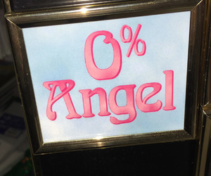 pink and angel image
