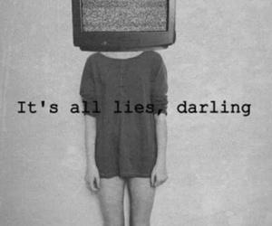 lies, darling, and tv image