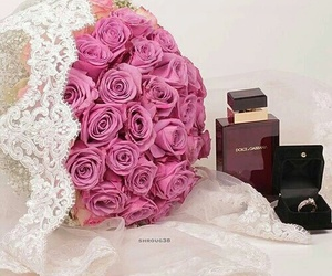 dolce & gabanna, flower, and marriage image