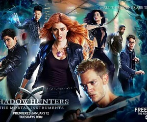 clary fray, magnus bane, and alec lightwood image