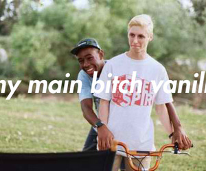 tyler the creator, boy, and bitch image
