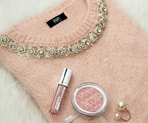 fashion, pink, and blush image
