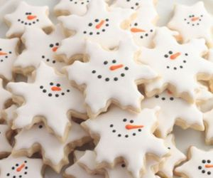 Cookies, desserts, and snowman image