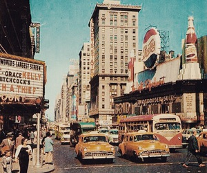 vintage, retro, and city image
