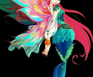 winx club, bloom, and bloomix image