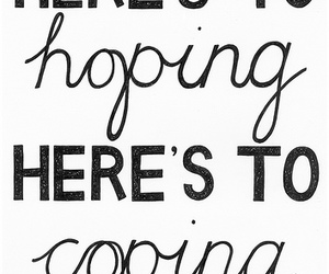 hope, text, and coping image