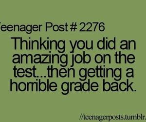 teenager post, test, and job image