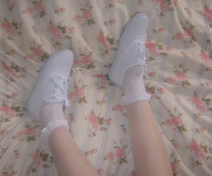 shoes, socks, and white image