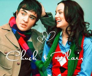 blair, chuck, and chuck bass image