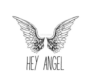 hey angel, wallpaper, and perfect image