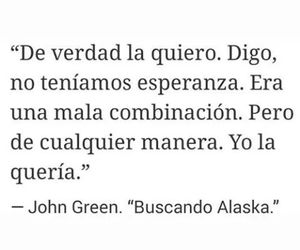book, frases, and buscando a alaska image