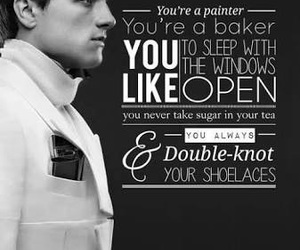 peeta, hunger games, and josh hutcherson image