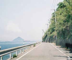 nature and road image
