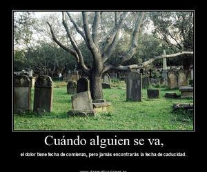muerte and pain; sad image