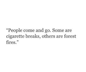 quote, cigarette, and people image