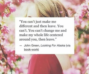 john green, quote, and book image