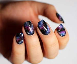 beauty, cool, and galaxy image