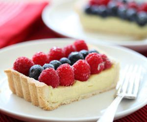 food, blueberry, and raspberry image