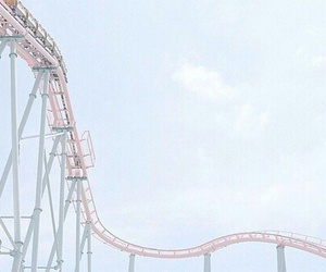 amusement park, funny, and sky image