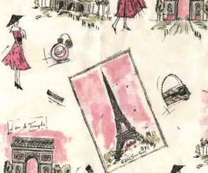 paris and pink image