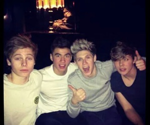 niall horan, 5sos, and calum hood image