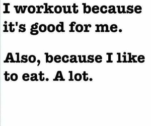 workout, food, and eat image