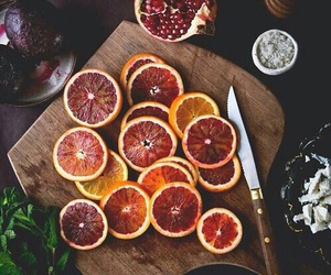 food, orange, and dried oranges image
