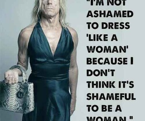 iggy pop, woman, and dress image