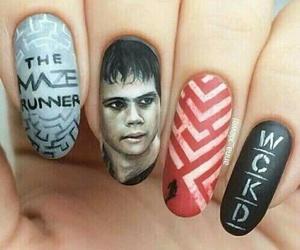 nails, thomas, and the maze runner image
