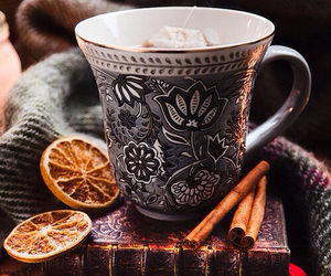 tea, winter, and autumn image