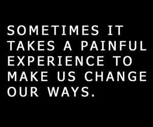 change, pain, and quote image