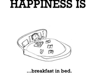 bed, breakfast, and love image