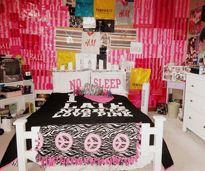 pink, Victoria's Secret, and room image