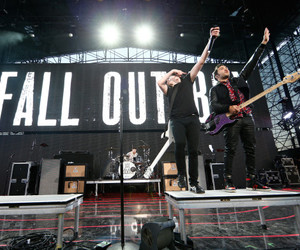 concert, fall out boy, and music image