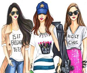 fashion, boho, and grunge image