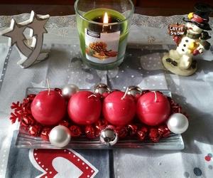 christmas, decorations, and flake image