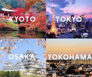 japan, kyoto, and osaka image