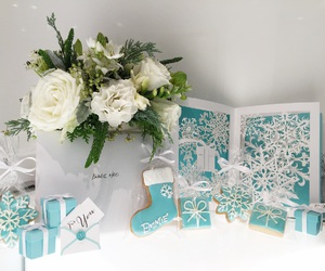 blue box, tiffany cookies, and customised image