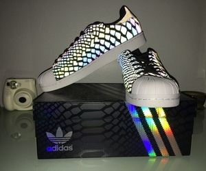 adidas, fluo, and stylé image