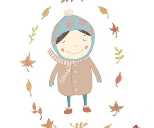 autumn, cold, and october image