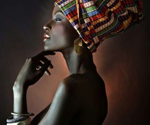 woman, beauty, and black image