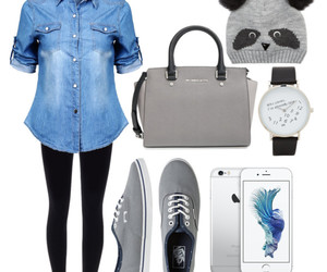 gray, mk, and Polyvore image