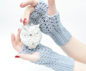 arm warmers, armwarmers, and crochet image