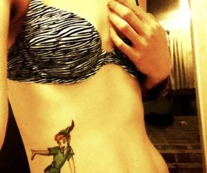 peter pan, peter pan tattoo, and tattoo image