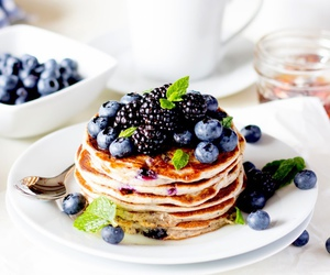 food, fruit, and morning image