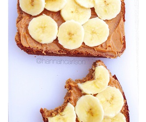 abs, banana, and breakfast image