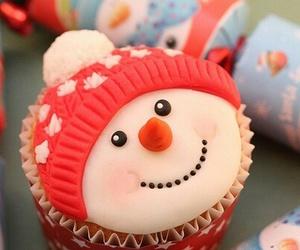 christmas and cupcake image