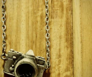 camera, necklace, and chain image