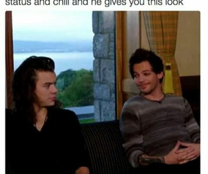 funny, larry stylinson, and louis tomlinson image