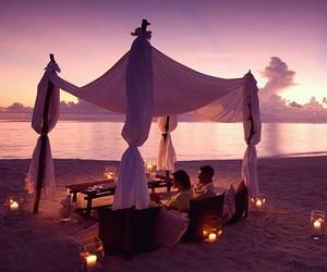 beach, romantic, and summer image